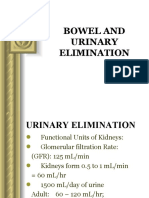 4 Urinary and Bowel Elimination