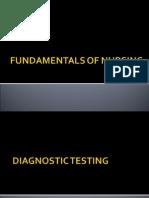 6 Diagnostic Testing