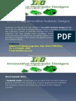 Innovative Hydraulic Design-IHD