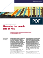 Managing the People Side of Risk