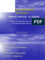 Maxillary Orthognathic Procedures.ppt / orthodontic courses by Indian dental academy