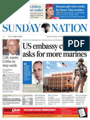 Daily Nation 18 05 2014 pdf | Kenya | Nairobi