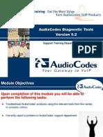 Diagnostic Tools 5.2 for audio code