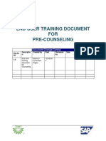 Pre Counselling Training Doc V1.1