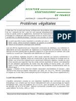 FicheProteines RV