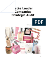 Estee Lauder Strategic Audit