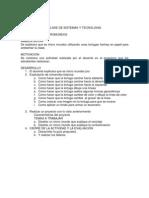 Clase de Sistemas y Tecnologia Micromundos Pro
