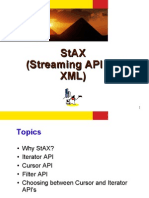 StAX (Streaming API for XML)