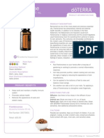 frankincense essential oil product information page