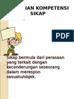 1. Penilaian Sikap SMK