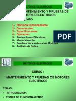 Introduccion y Teoria de Funcionamiento Motores Electricos