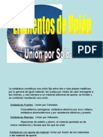 uniones soldadas