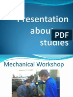 Presentation About My Studies and Work PWP