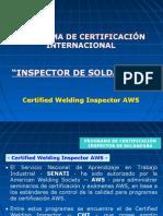 Inspector de Soldadura
