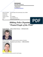 Wanted People of the Week-Busby, Straw,Miller