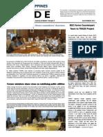 2013 November Newsletter