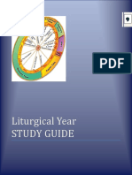 Study Guide 9 - Liturgucal Year