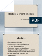 Mastitis y Tromboflebitis