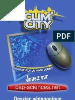 """Dossier pédagogique """"Clim'City"""""""