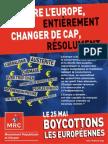 """Manifeste """"Changer de Cap, refaire l'Europe"""""""