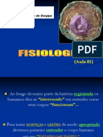 Aula 01 Fisiologia Humana Introdução