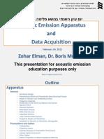 Acousticemissionsensorsequipment Zoharelmanborismuravin 24feb2011 Short 110224160713 Phpapp02