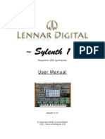 Manual for sylenth