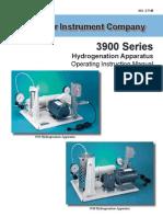 Parr Hydrogenator 3900 series