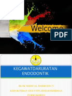 Kegawatdaruratan Endodontik Drg.bambang