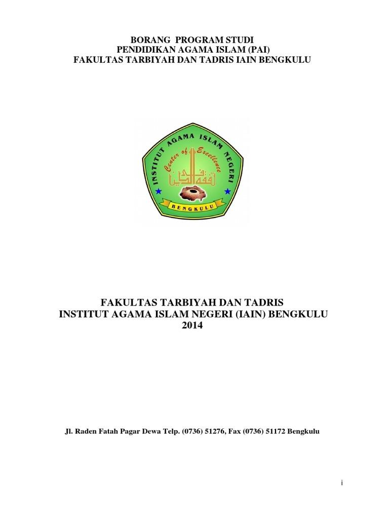 Contoh Proposal Skripsi Pai Tarbiyah Pdf File Kindlsafari