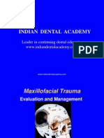 Maxillofacial Trauma Evaluation and Management (NXPowerLite) / orthodontic courses by Indian dental academy