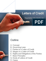 Nego Letter of Credit Report