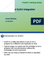 Freeipa30 SSSD SUDO Integration