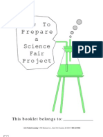 How to Prepare a Science Fair Project Backline