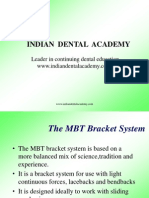 mbt / orthodontic courses by Indian dental academy