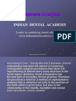 Mc Namara Analysis / orthodontic courses by Indian dental academy