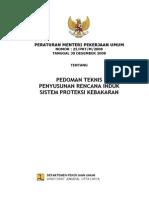 PermenPU25-2008 Pedoman teknis proteksi kebakaran