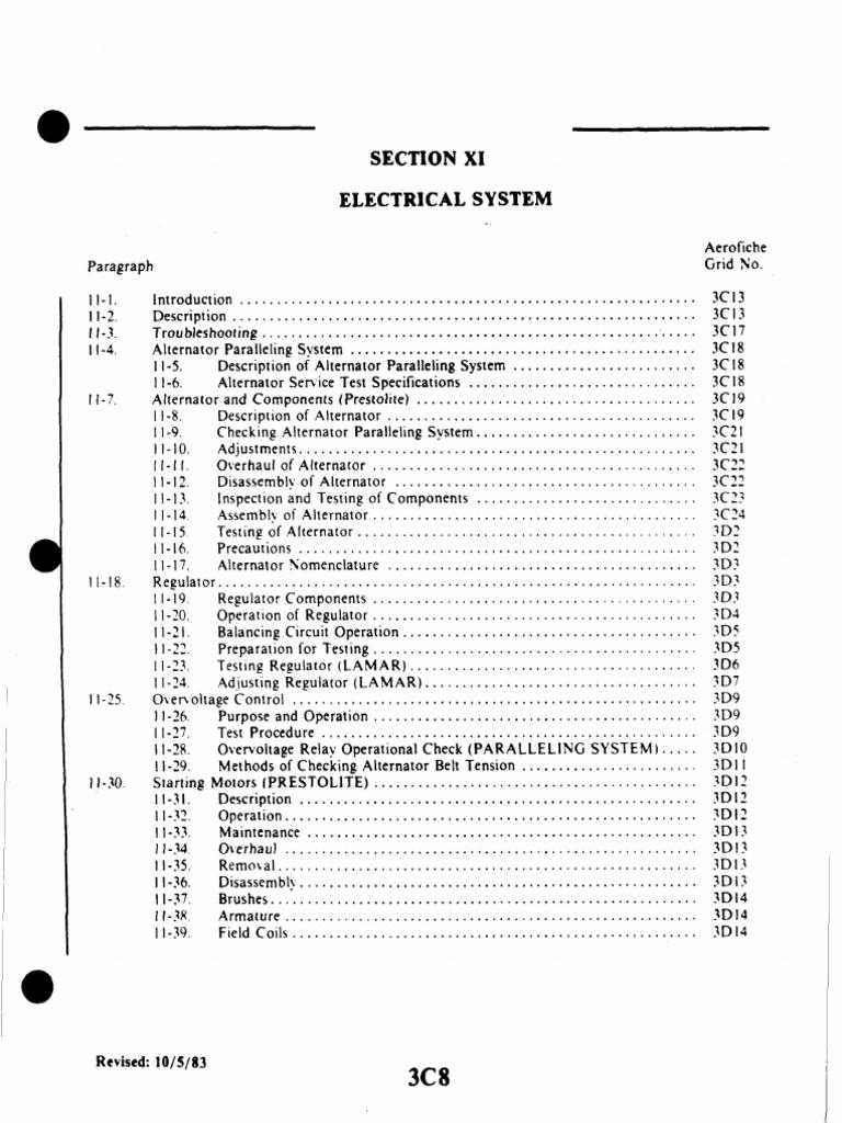Pipper Navajo Electric System Switch Current Piper Seneca Wiring Diagram