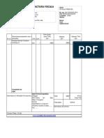 Model Factura Excel