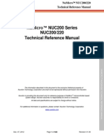 Numicro Nuc2xxan Technical Reference Manual en v1.00