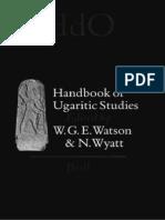 Watson - Wyatt - Handbook of Ugaritic Studies