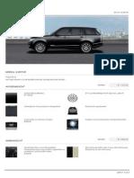 Landrover Range Rover 2014 144k