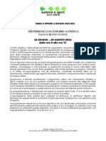 Autismo e Sport PROGETTO L'Estate Con Noi 2014