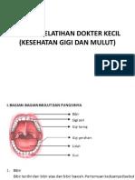Materi Pelatihan Dokter Kecil