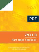 MSA Rule Book 2013