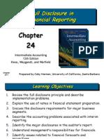 Full Disclosure in Financial Reporting