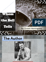 For Whom the Bell Toll