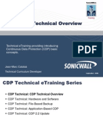 CDPTechTraining 1 Overview