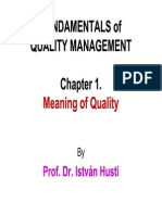 1Meanings of Quality