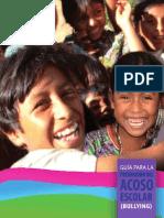 Guia Prevencion Acoso Escolar Guatemala